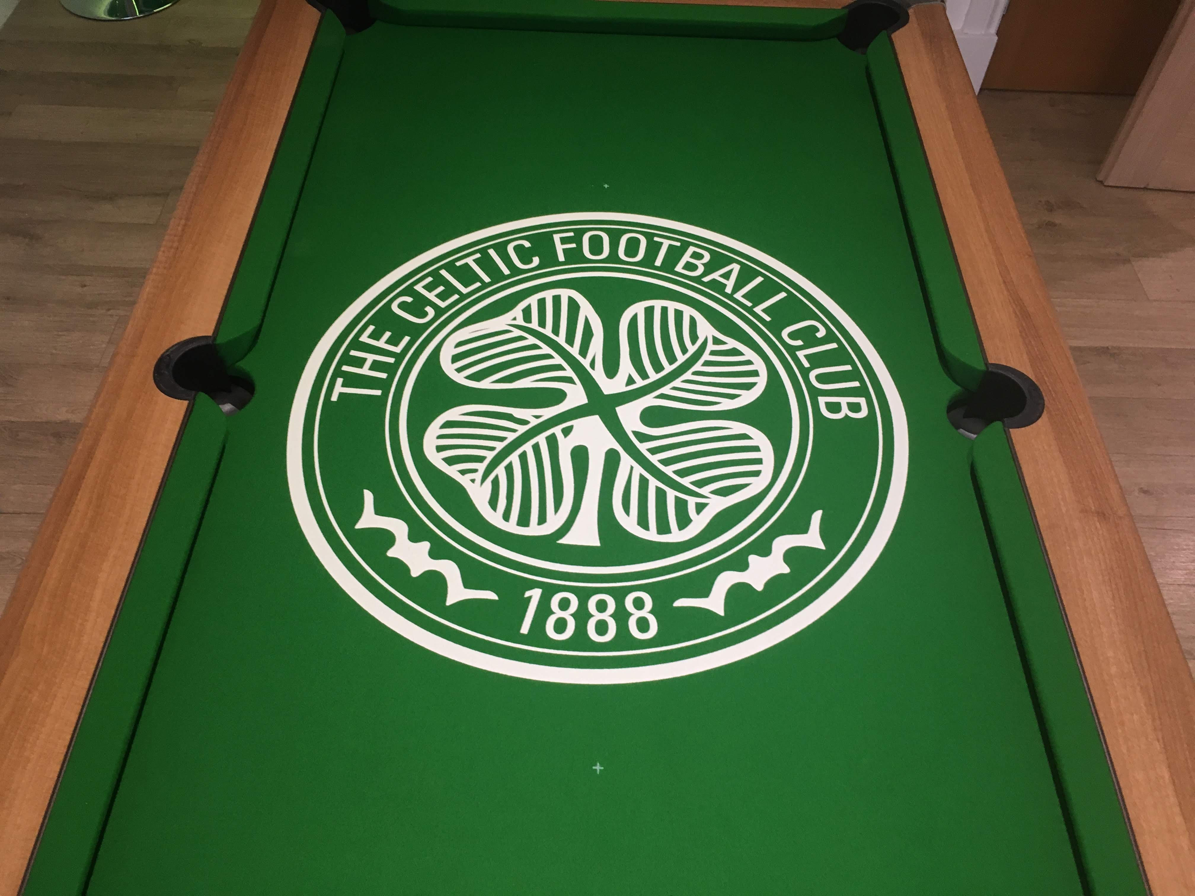 Celtic FC pool cloth