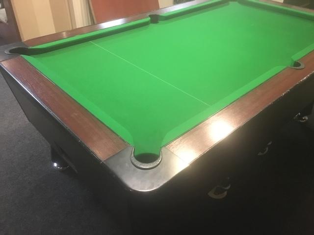 British legion pool table. Carnoustie