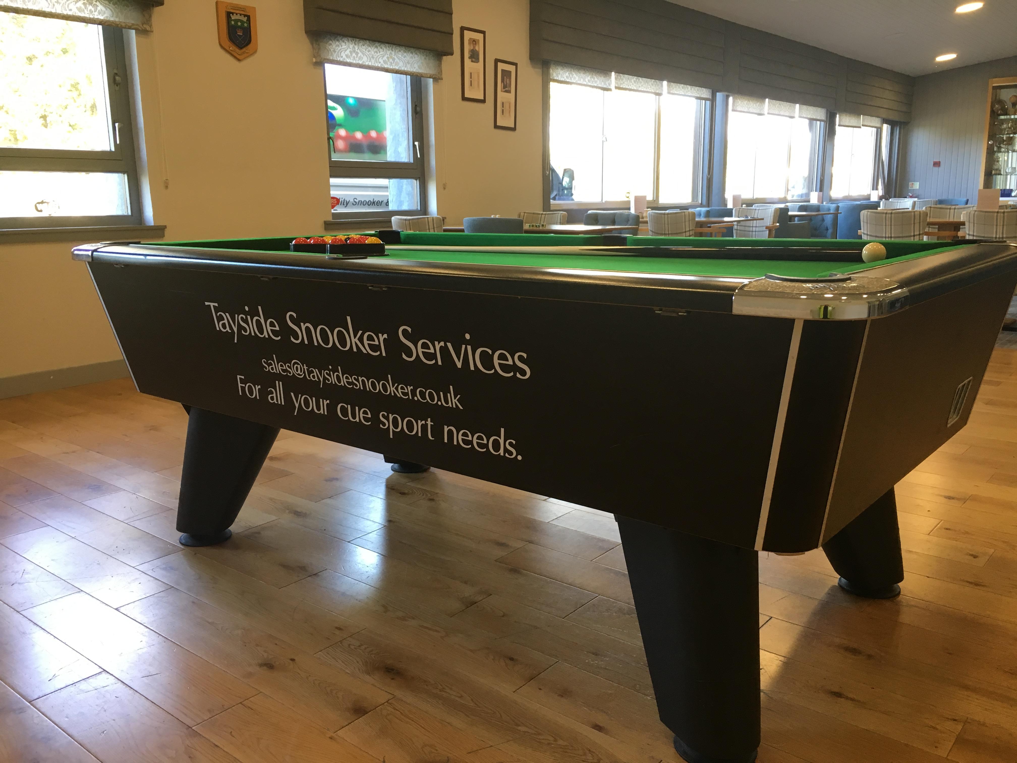 Kirriemuir Golf Club – pool table hire